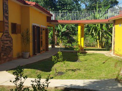 Foto del patio de